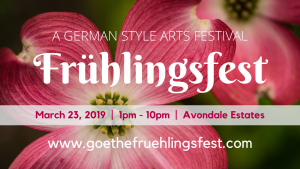German Spring Festival March 23, 2019