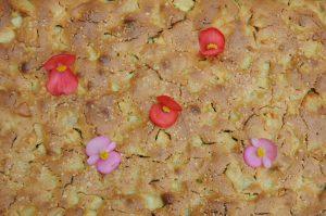apple oat cake uncut